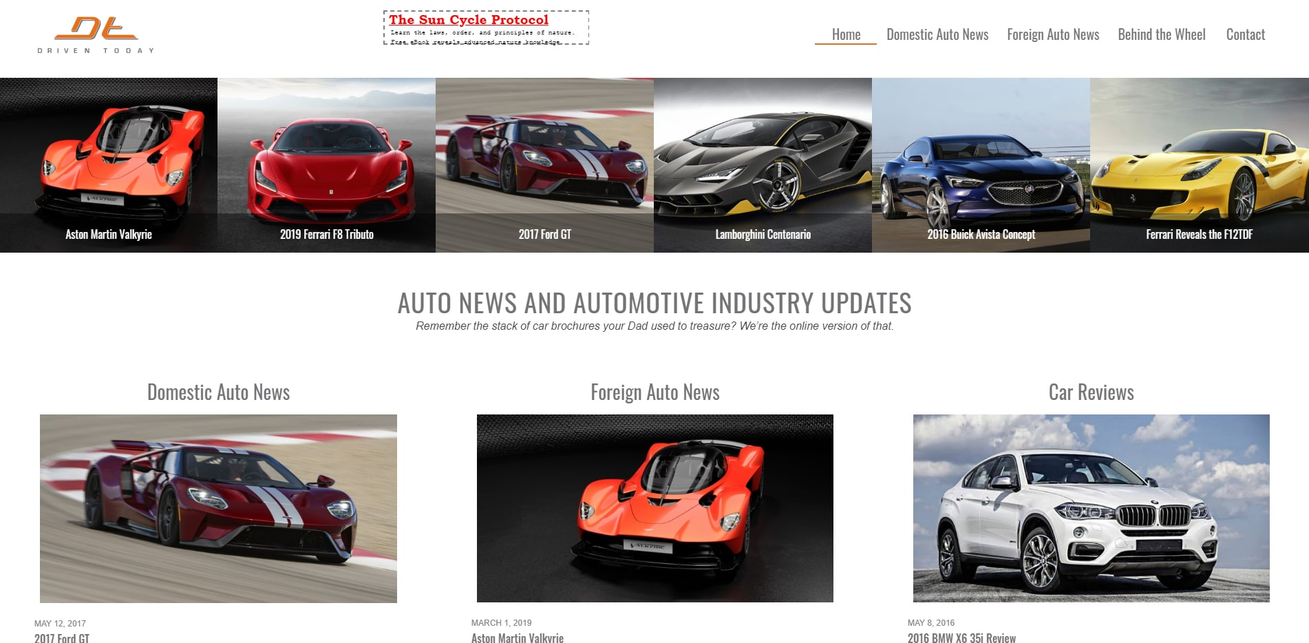automotive industry news and updates