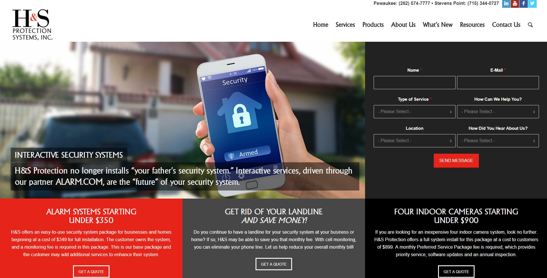 home and business protections services