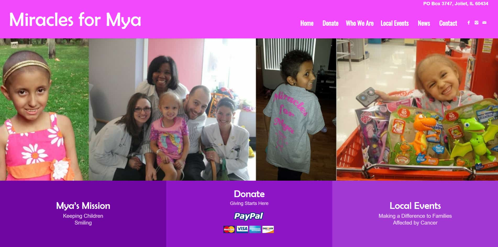 miracles for mya